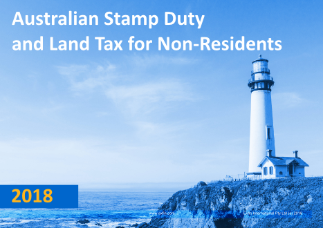 Australian Stamp Duty and Land Tax Summary for Non-Residents