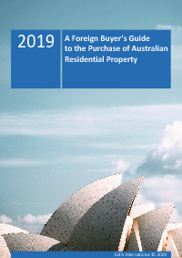 Australian property guide for Foreign Investors